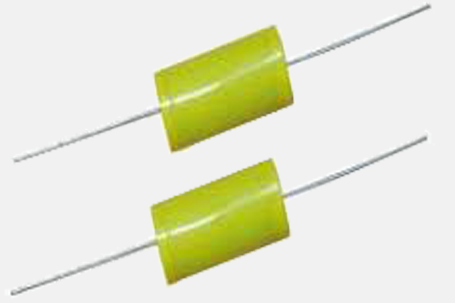 High current and high voltage capacitors